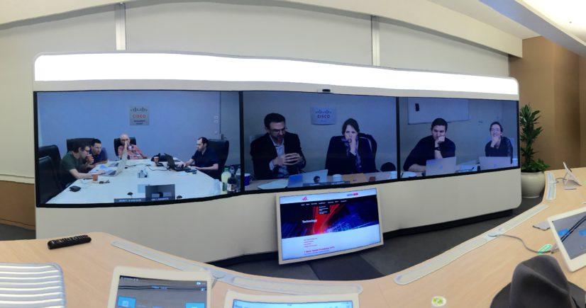 Immersive Telepresence, Cisco Tokyo