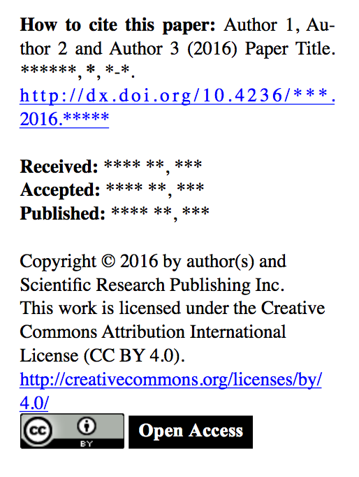Surprising copyright statement in paper received for review