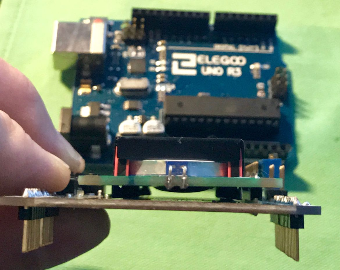 Walking Through the 1602 LCD Keypad Shield for Arduino – Thomas Clausen