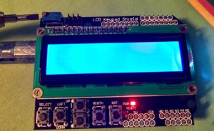 Walking Through the 1602 LCD Keypad Shield for Arduino