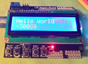 Walking Through the 1602 LCD Keypad Shield for Arduino – Advanced