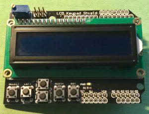 Arduino 1602 LCD Keypad